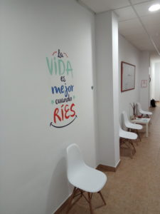 Clinica dental pasillo